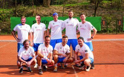 SPITZENTENNIS IM BERGISCHEN LAND – Elberfelder Herren 30 starten am nächsten Wochenende in die Regionalligasaison
