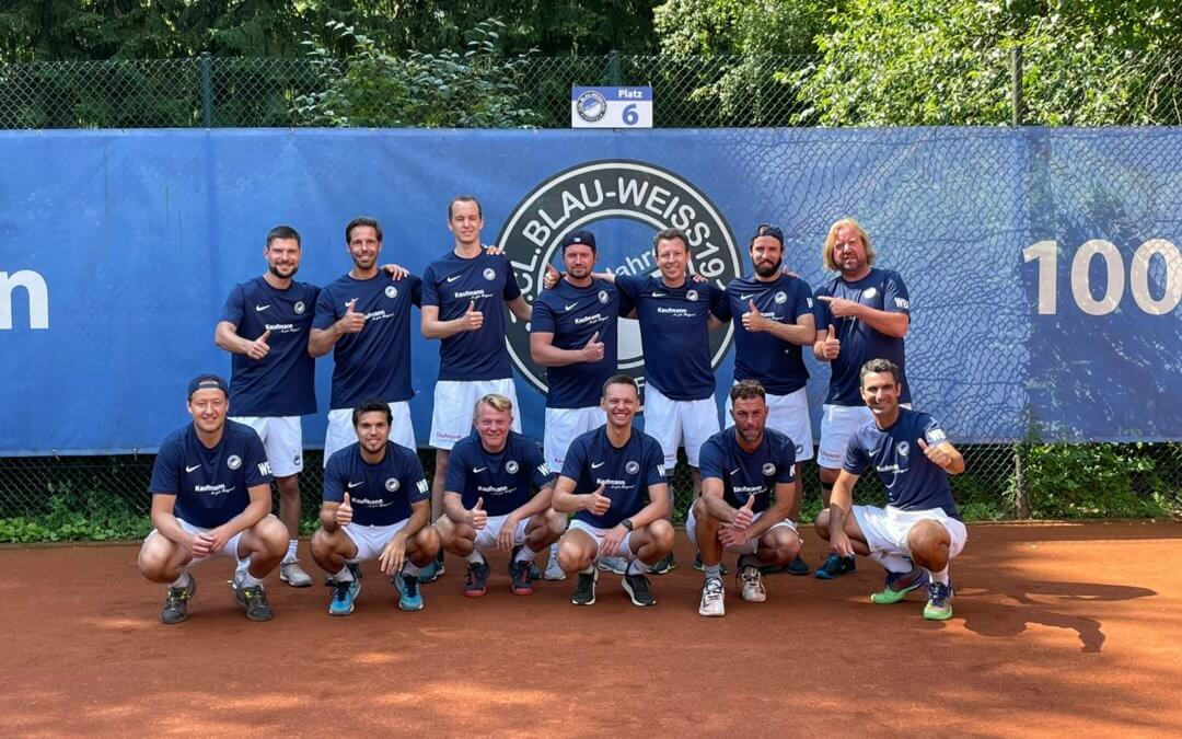 Unsere Herren 30 behielten auch im dritten Spiel der Regionalliga-Saison ihre weiße Weste